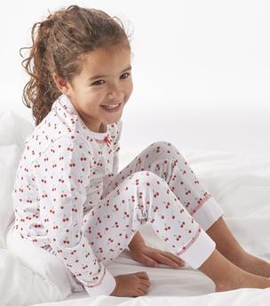 pyjama - cherries