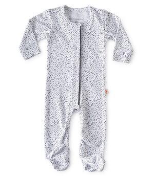 Wit babypakje met stippen Little Label