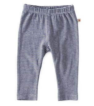 Smal baby broekje - small stripe navy - Little Label