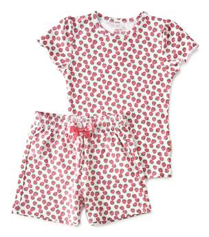 summer pyjama - red strawberry