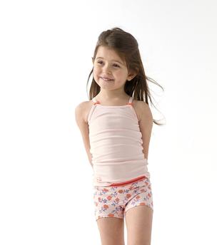 roze meisjes hemd Little Label