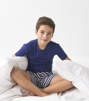 model foto korte zomer pyjama Little Label
