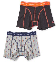 boxers set grey melee arrow & anthracite Little Label