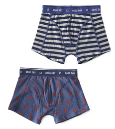 boxers lobster & big blue stripe Little Label