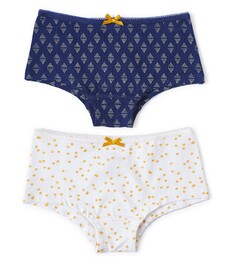 hipster set - dark blue triangle dot & sparkling gold dot Little Label