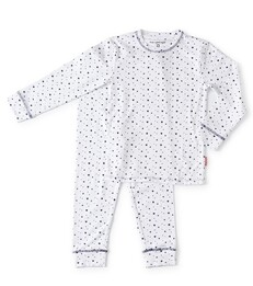 witte baby meisjes pyjama set - Little Label