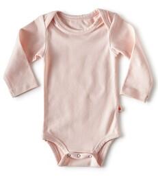 bodysuit long sleeves - light pink