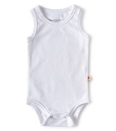 bodysuit sleeveless - white