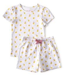 baby zomer pyjama - lemons - Little Label