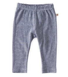 Smal baby broekje - small stripe navy - Little Label