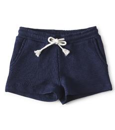 navy blue baby girls shorts - Little Label