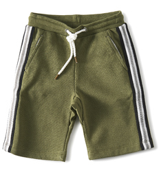 groene jongens short Little Label