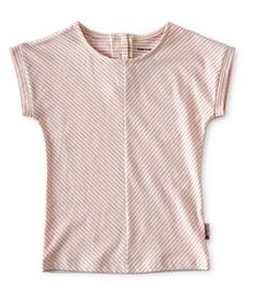 top meisjes - roze gestreept - Little Label