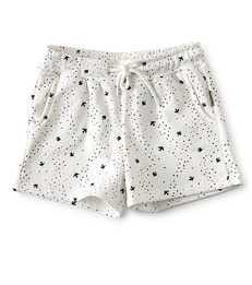 licht meisjes shorts bird print- Little Label
