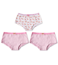 hipster set meisjes dragonfly pink combi Little Label