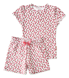 summer pyjama - red strawberry