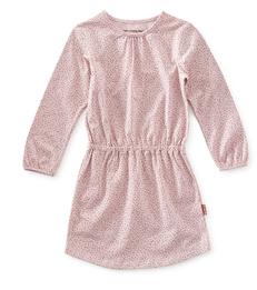 jersey baby jurk - violet speckle - Little Label