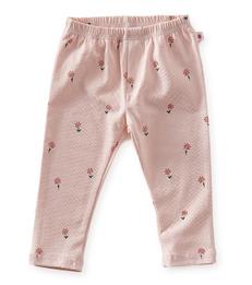 baby broekje - light pink flowers - Little Label