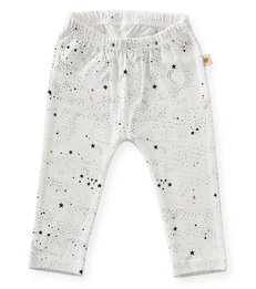 baby broekje - off white black stars - Little Label