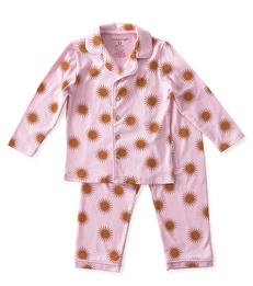 pyjamaset meisjes koperen zonnetjes Little Label