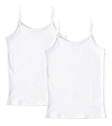 set witte hemdjes meisjes Little Label
