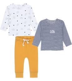 baby kleding set blauw Little Label