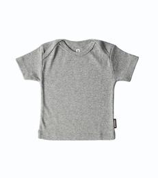 grijs baby shirtje little label