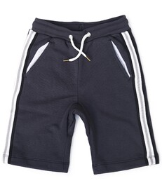 jongens shorts contrast - antraciet - Little Label