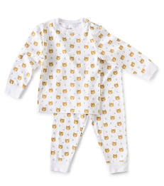 baby pyjama wit tiger Little Label