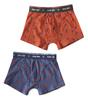 boxer briefs 2-pack - palm orange & lobster