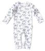 baby sleepsuit - tiger blue