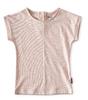 top baby girls - fluo pink stripe