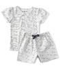 summer pyjamas baby girls - good night