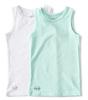 tank tops boys 2-pack - aqua blue combi