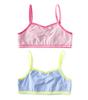 girls bralettes 2-pack - blue combi