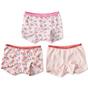shorts girls 3-pack - pink combi