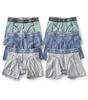 boxer briefs 6-pack - green blue grey