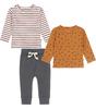 baby clothing set - warm brown