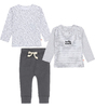 baby clothing set - anthracite