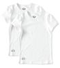 girls t-shirts 2-pack - white