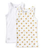 tank tops boys 2-pack - white tiger combi