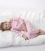 meisjes pyjama star lilac pink - Little Label
