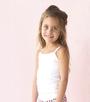 wit meisjes hemdje Little Label