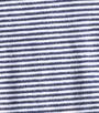 small stripe navy little Label