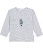 gestreept baby t-shirt Little Label