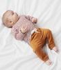 shirtje copper stripe & copper baby pants