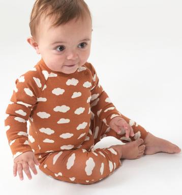 H3 newborn winter sleepwear