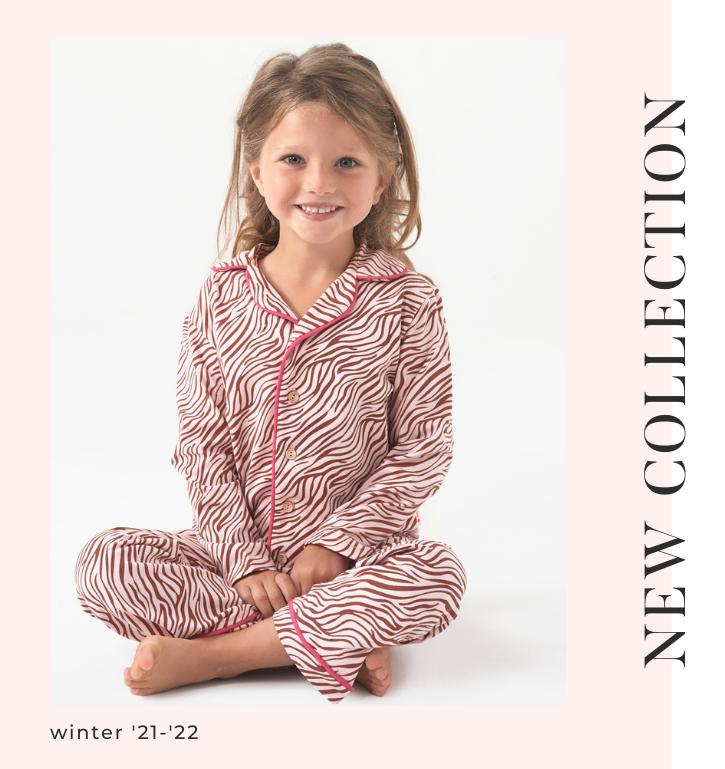 H4 girls winter sleepwear